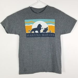 Disney Lion King Hakuna Matata T Shirt Mens Small